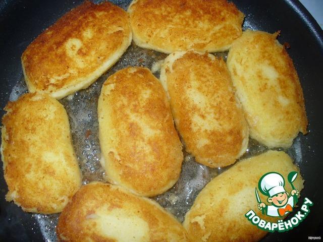 картофельные котлеты рецепт с грибным