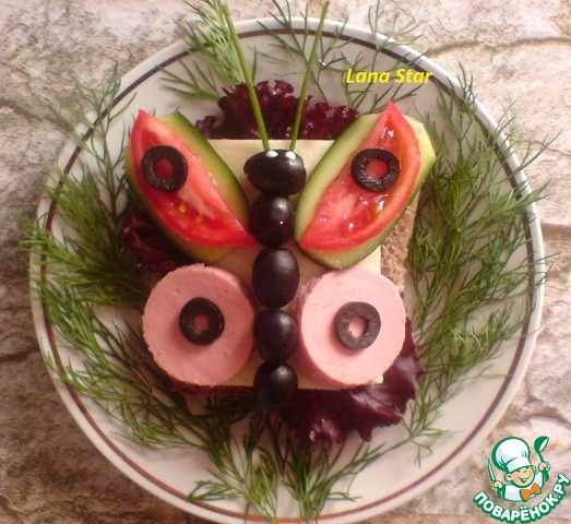 Блюда для детского стола с фото