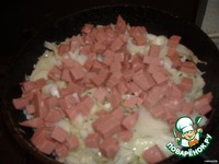 Капуста тушеная с колбасой ингредиенты