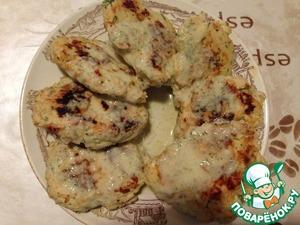 Куриные оладьи с соусом домашний пошаговый рецепт с фото готовим