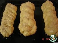 Медовая хала из 6 жгутиков ингредиенты