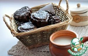 Рецепт Пряники шоколадные