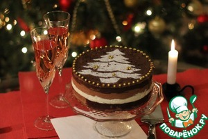 Рецепт Шоколадный торт-суфле