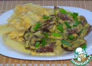 Рецепт Сердце индейки в сливочно-сырном соусе