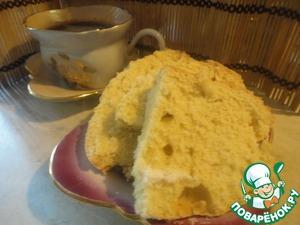 Рецепт Лимонный пирог к завтраку из хлебопечки