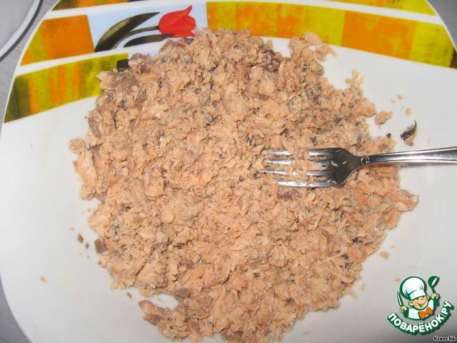 Рецепт с горбушей без майонеза