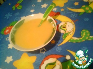 Рецепт Детский суп-пюре для самых маленьких
