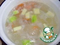 Суп-пюре с овощами и свининой ингредиенты