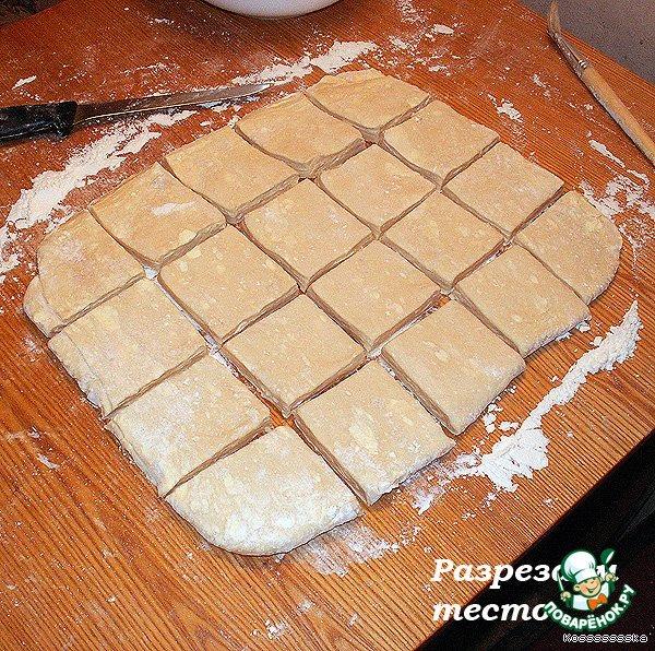 Пресное тесто рецепт с пошагово