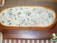 Экспресс-пирог из хлеба ингредиенты