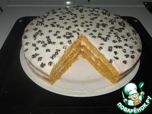 морковно лимонный торт рецепт
