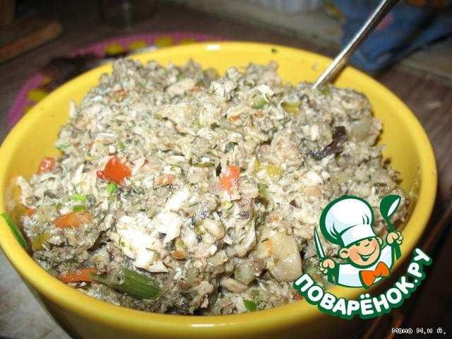 Готовим Галантин куриный вкусный рецепт приготовления с фото #5