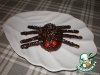 """Печенье """"Пауки"""" - кулинарный рецепт"""
