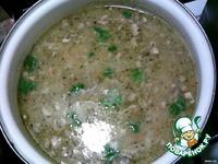 Куриный суп с грибами ингредиенты
