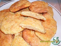 Сахарные лепeшки - кулинарный рецепт