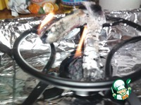 Шашлык с дымком в духовке ингредиенты