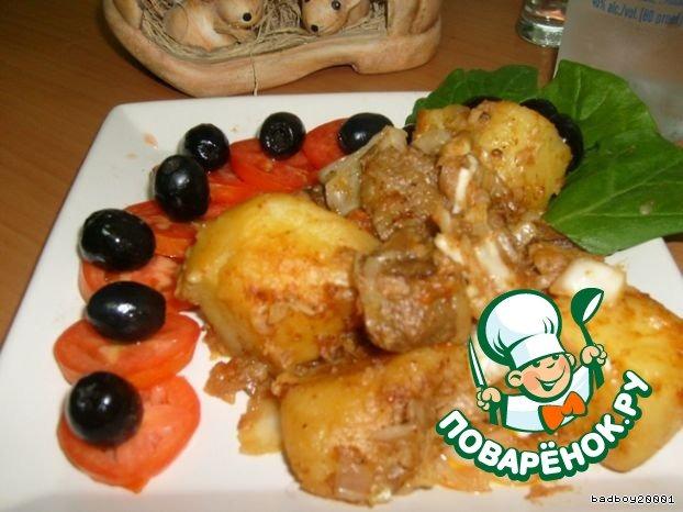 Пирог с карамелизированной грушей рецепт