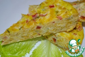 Рецепт Запеканка с сыром и кукурузой