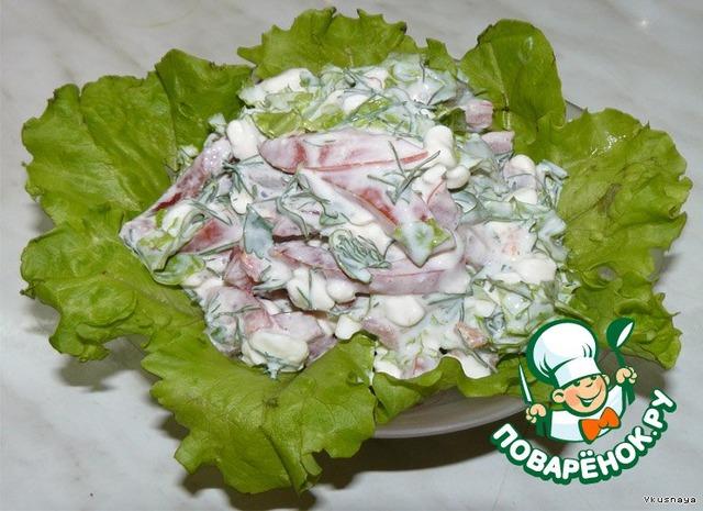 Творожные салаты рецепты с фото