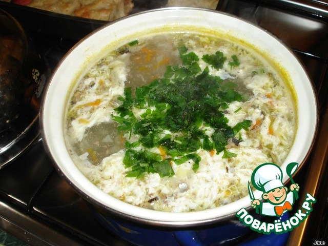 Как приготовить вкусный рецепт с фото Суп из консервов #11