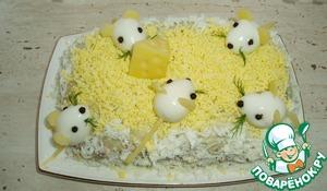 Салат с печенью трески вкусный рецепт приготовления с фото пошагово