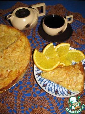 Рецепт Хлебная запеканка с миндалем