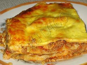 Рецепт Лазанья с мясом