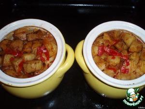 Рецепт Азу в горшочке