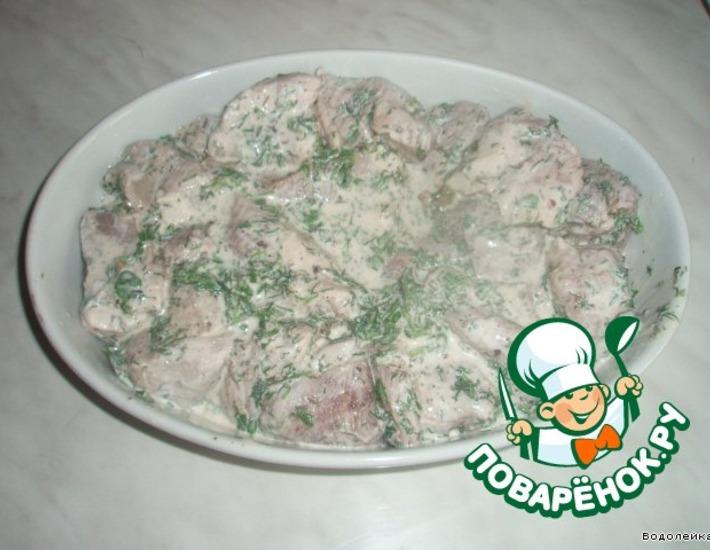 Рецепт: Мясо по-грузински