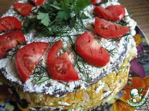 Печеночный торт от Надюшищи