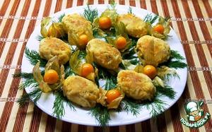 Рецепт Нежные котлеты из...  яиц