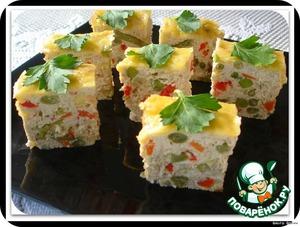 Рецепт Куриный террин с овощами