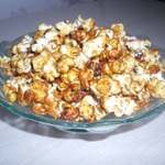 Попкорн с карамелью
