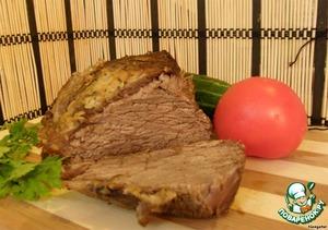 Рецепт Маринад  для говядины, запеченной в рукаве