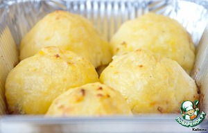 Рецепт Картофельные шарики-зразы с грибами
