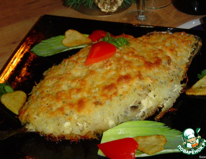 Рецепт: Скумбрия Золотая рыбка