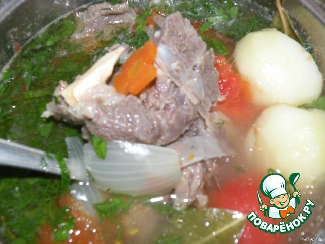 шурпа пошаговый рецепт приготовления с фото