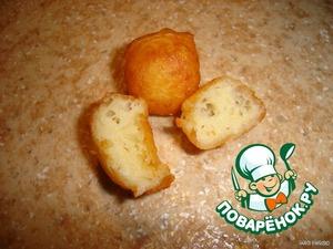 Рецепт: Хрустящие сырные шарики