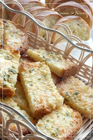 Cheese and garlic bread