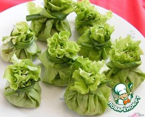"""Рецепт Закуска """"Зеленый листочек"""""""