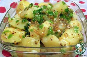 Рецепт: Горчичный картофель по-немецки