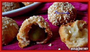 Рецепт Закусочные шарики с оливками