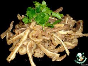 Рецепт Маринованные свиные ушки