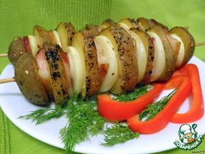 """Рецепт """"Картошка-гармошка"""""""