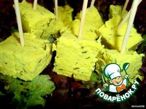 Рецепт Домашний сыр с карри и укропом