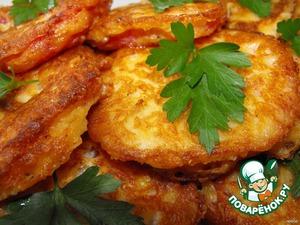 Рецепт Помидоры в сырном кляре