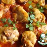 Курица в томатно-сметанном соусе