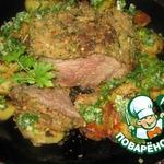 Свинина, запечeнная с картофелем