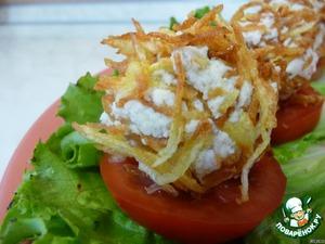 Картофельные шарики вкусный рецепт приготовления с фотографиями готовим