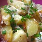 Картошечка под сметанно-сырным соусом